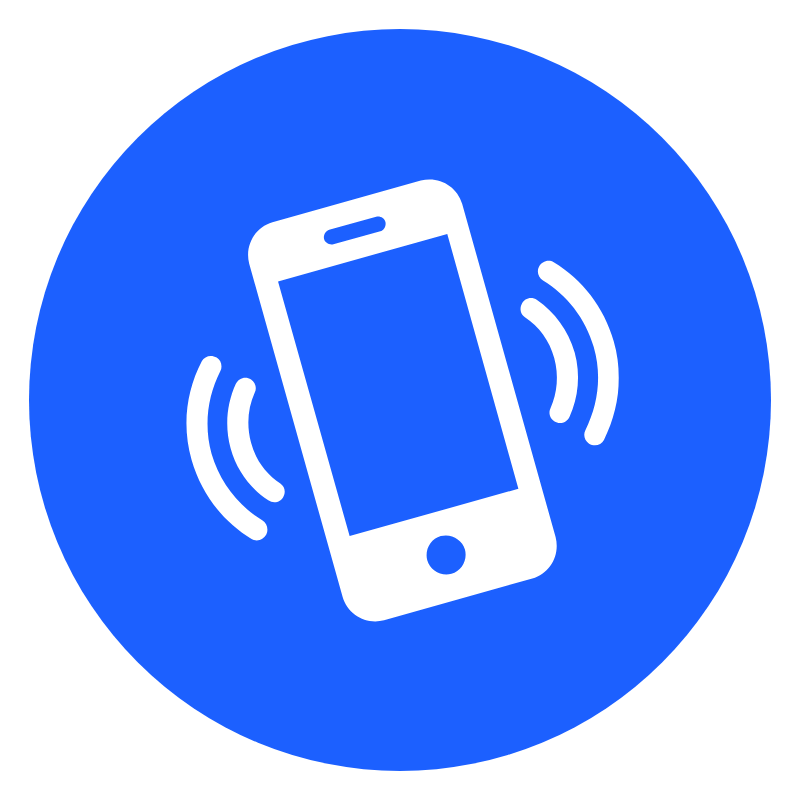 mobile icon - car dealership phone system